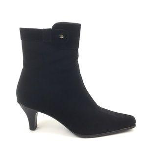 Stuart Weitzman black goretex ankle boot bootie